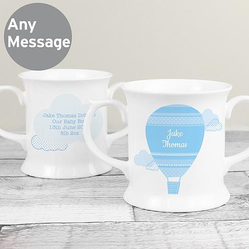 Personalised Up & Away Boys Loving Mug