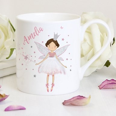 Personalised Fairy Princess Balmoral Mug