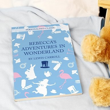 Personalised Alice in Wonderland Novel - 1 Character