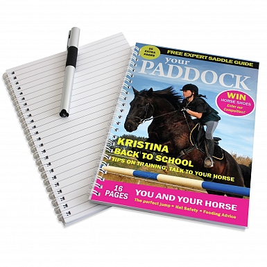Personalised Your Paddock A5 Notebook