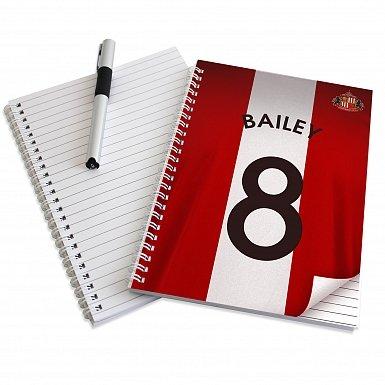 Personalised Sunderland A5 Notebook