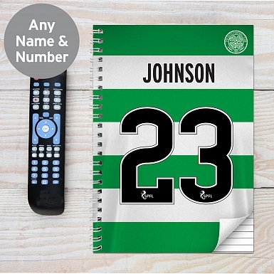 Personalised Celtic A4 Notebook