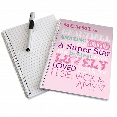 Personalised She Is... A5 Notebook