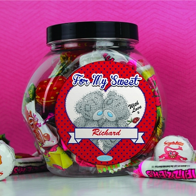 Personalised Me to You Couple Sweet Jar UK [United Kingdom]