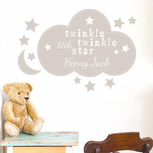 Personalised Twinkle Twinkle Wall Art