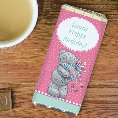 Personalised Me to You Candy Girl Milk Chocolates Bar