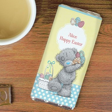 Personalised Me To You Easter Milk Chocolates Bar