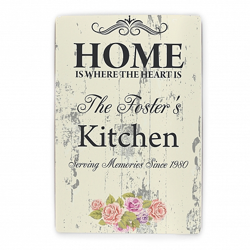 Personalised Shabby chick Sign