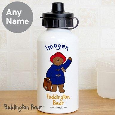 Personalised Paddington Bear Drinks Bottle