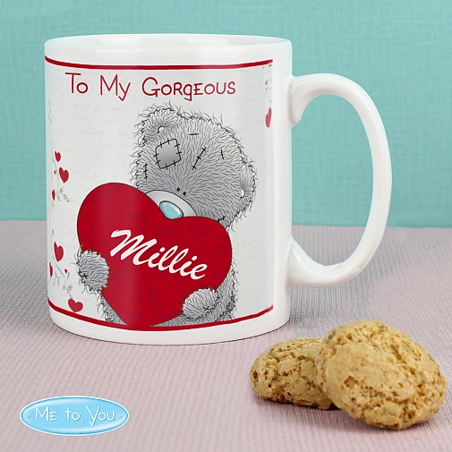 Personalised Me to You Big Heart Mug delivery to UK [United Kingdom]