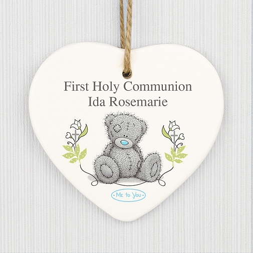 Personalised Me To You Natures Blessing Ceramic Heart Decoration