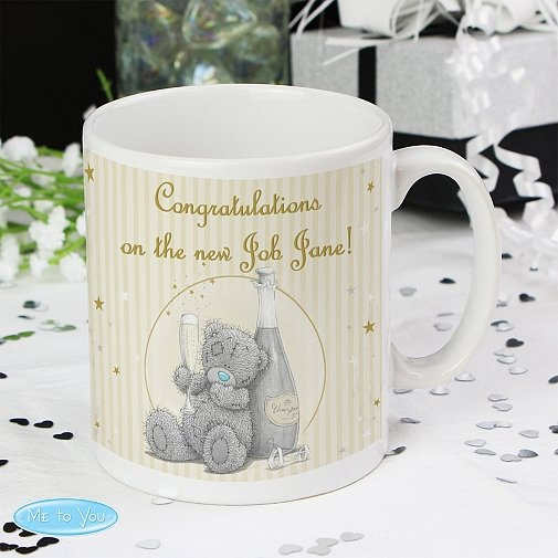 Personalised Me To You Gold Stars Mug