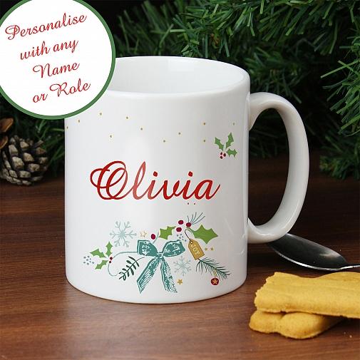 Classic Christmas Mug
