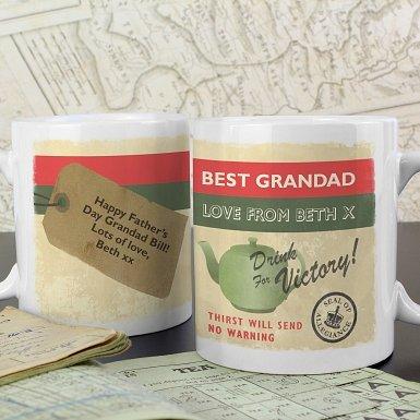 Personalised Nostalgia Mug