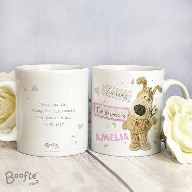 Personalised Boofle Female Wedding Mug