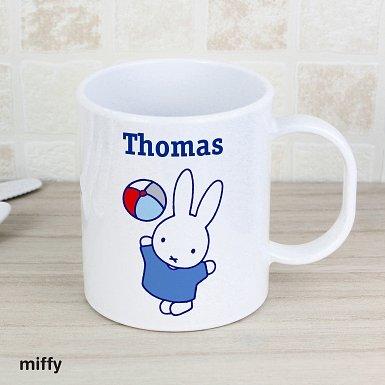 Personalised Miffy Playful Plastic Mug
