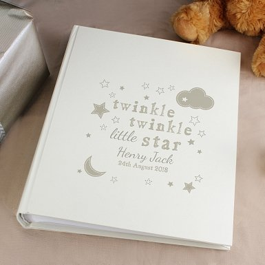 Personalised Twinkle Twinkle Album with Sleeves