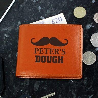 Brown Moustache Wallet