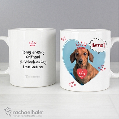 Personalised Rachael Hale I Wuff You Mug