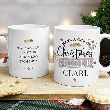 Personalised Cup of Cheer Mug